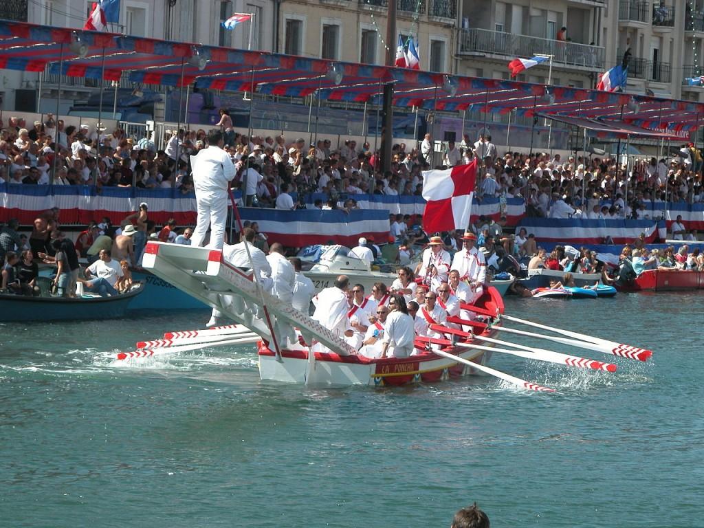 Fête SAINT LOUIS Tournois de joutes Jouteurs Sète Mèze Balaruc Fetes traditionnels Bassin de Thau Herault