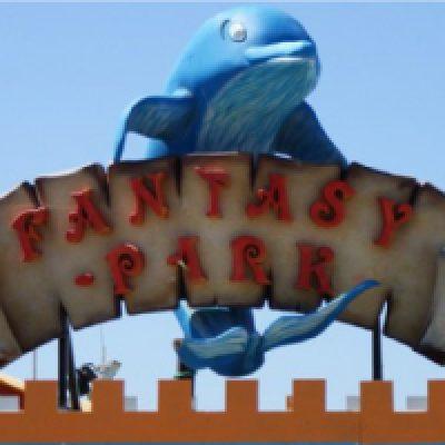 Fantasy Park Plage parc de jeux Sète