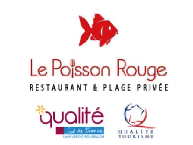 Restaurant Frontignan Plage Privée LE POISSON ROUGE
